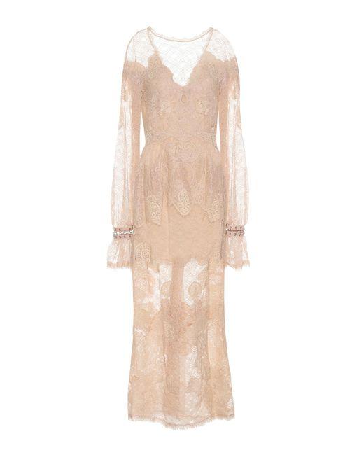 Jonathan Simkhai - Natural Lace Maxi Dress - Lyst