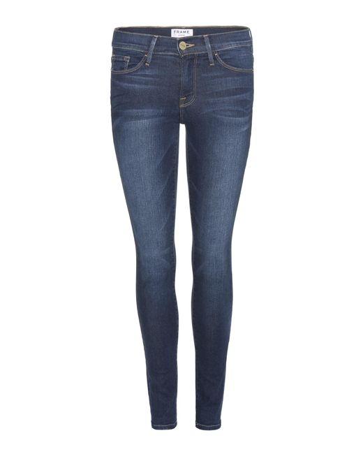 FRAME - Blue Jeans Le Skinny De Jeanne - Lyst