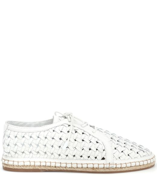 Zimmermann White Woven Sneaker $395 Men's Clothing