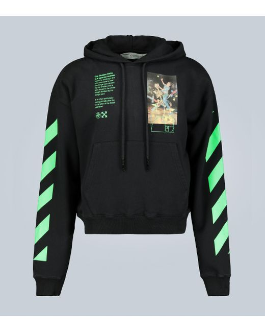 Off-White c/o Virgil Abloh Black Hoodie Pascal Painting