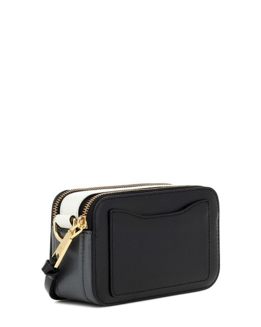 Sac camera noir Small Snapshot Marc Jacobs en coloris Black