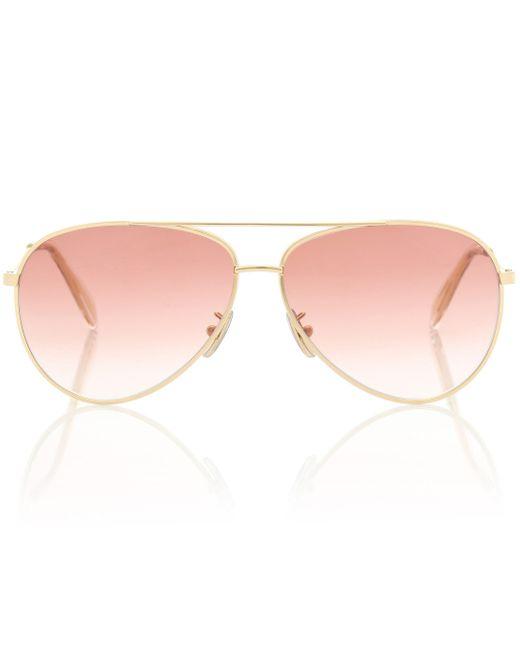Céline Pink Aviator-Sonnenbrille