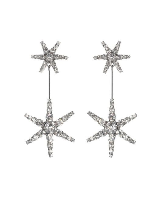 Jennifer Behr - Metallic Starburst Crystal Earrings - Lyst