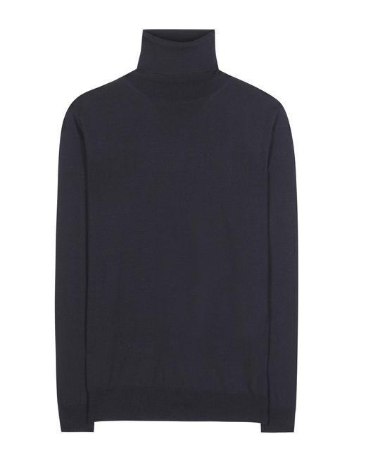 Stella McCartney - Blue Virgin Wool Turtleneck Sweater - Lyst
