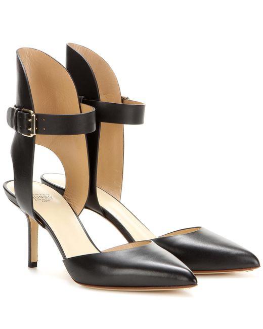 Francesco Russo | Black Leather Pumps | Lyst