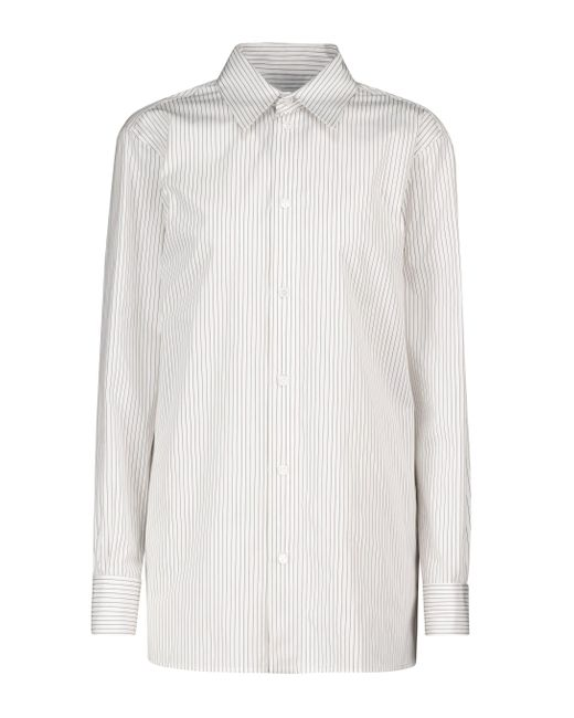 Bottega Veneta White Hemd aus Baumwolle