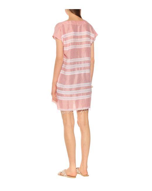 Tunique Doro en coton mélangé Lemlem en coloris Pink
