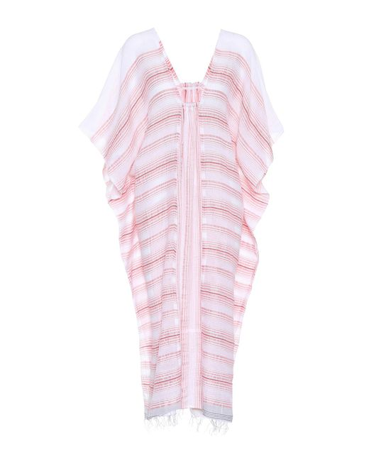 Lemlem - Pink Tereza Striped Cotton-blend Kaftan - Lyst