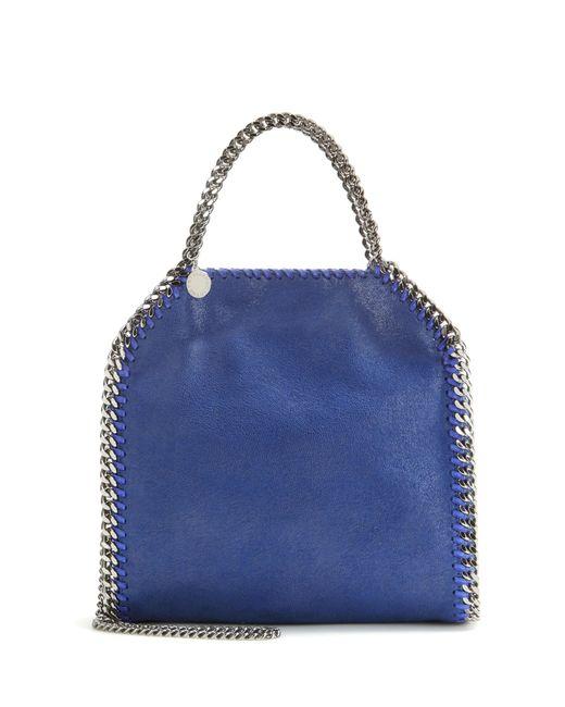 Stella McCartney | Blue Falabella Mini Tote | Lyst