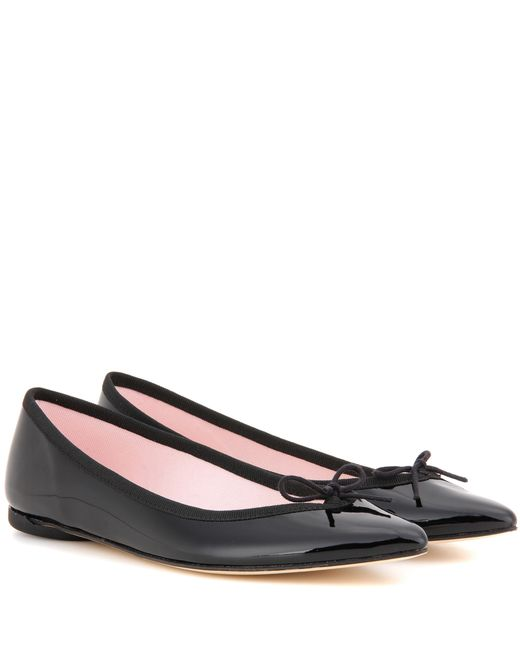Repetto | Pink Brigitte Patent Leather Ballerinas | Lyst