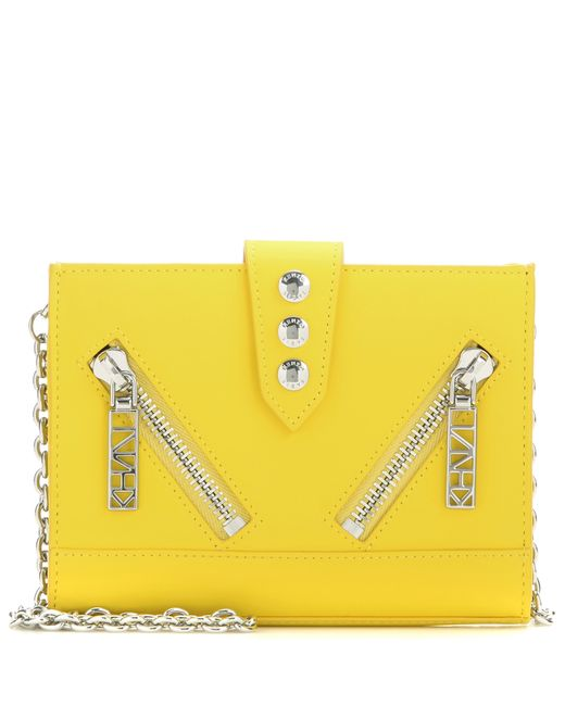KENZO | Yellow Kalifornia Cross Body Bag - Citron | Lyst