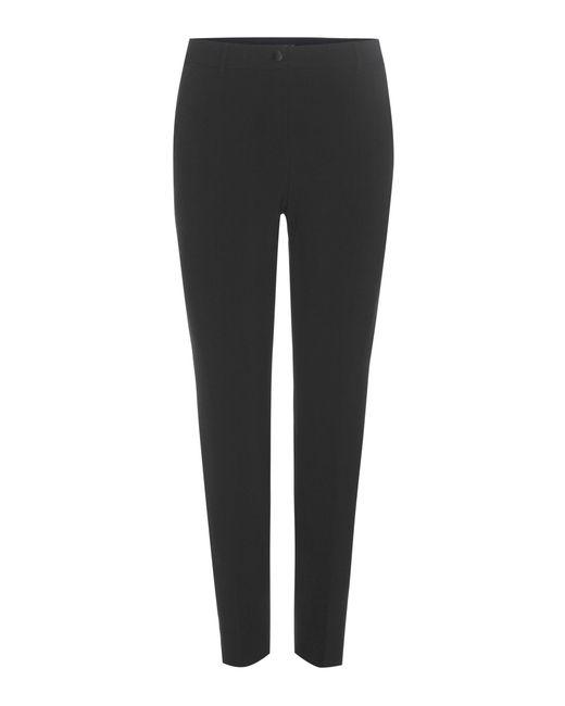 Dolce & Gabbana | Black Virgin Wool Cropped Trousers | Lyst