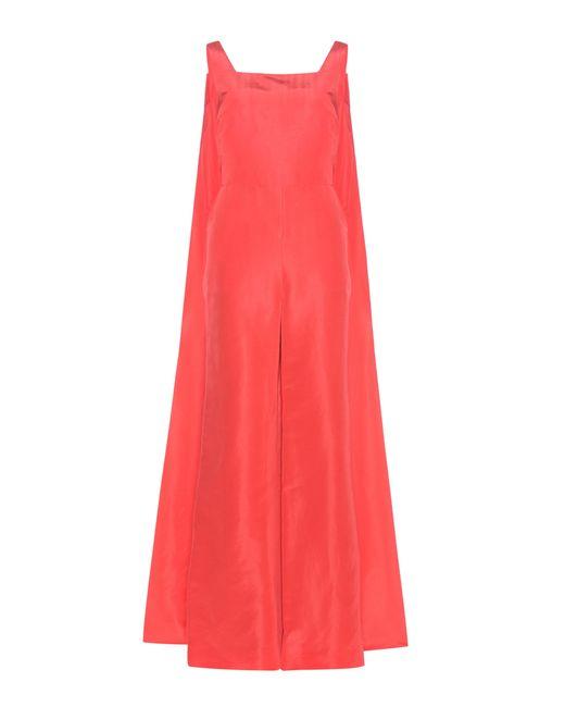 Rosie Assoulin | Red Superhero Silk Jumpsuit | Lyst
