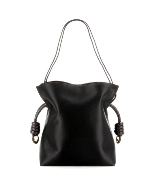 Loewe | Black 'small Flamenco Knot' Shoulder Bag | Lyst