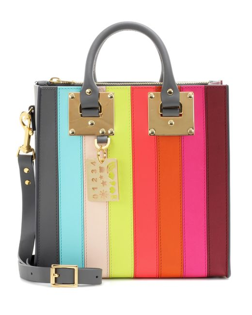 Sophie Hulme | Multicolor Albion Square Rainbow Leather Shoulder Bag | Lyst