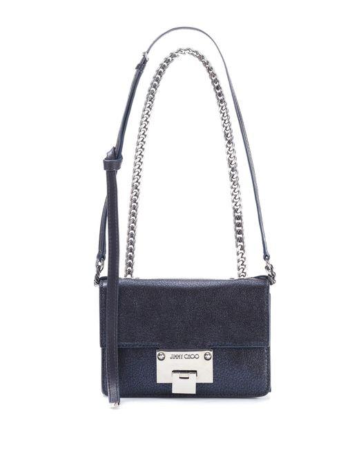 Jimmy Choo | Blue Rebel Soft Mini Leather Shoulder Bag | Lyst