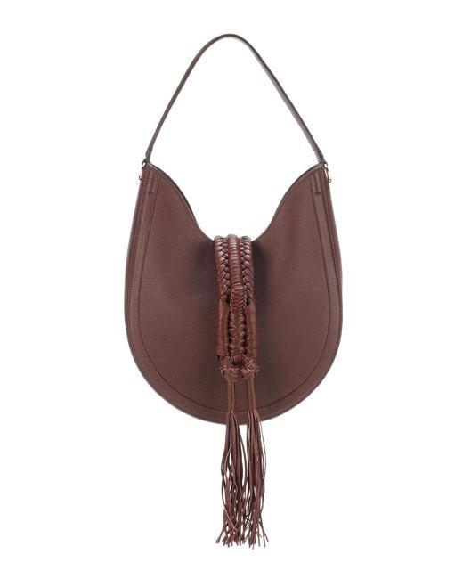 Altuzarra | Brown Ghianda Knot Hobo Leather Shoulder Bag | Lyst