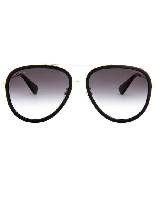 Gucci | Black Exclusive To Mytheresa. Com – Aviator Sunglasses | Lyst