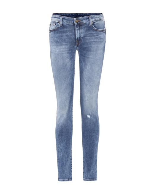 7 For All Mankind | Blue Pyper Jeans | Lyst
