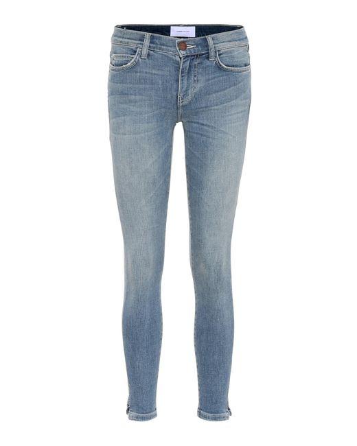Current/Elliott Blue The Stiletto Skinny Jeans