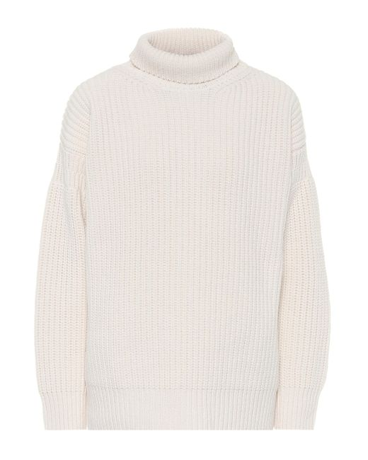 Marni Multicolor Virgin Wool Turtleneck Sweater