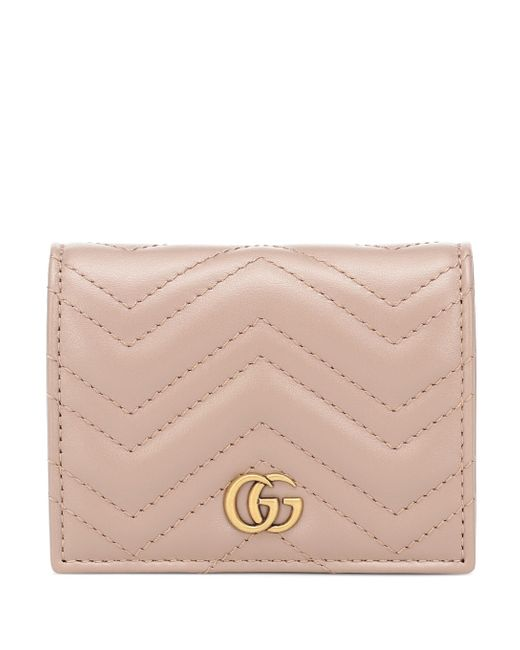 Gucci Multicolor GG Marmont Leather Wallet