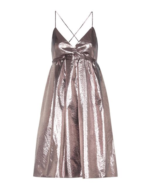 Victoria, Victoria Beckham - Exclusive To Mytheresa. Com – Metallic Dress - Lyst