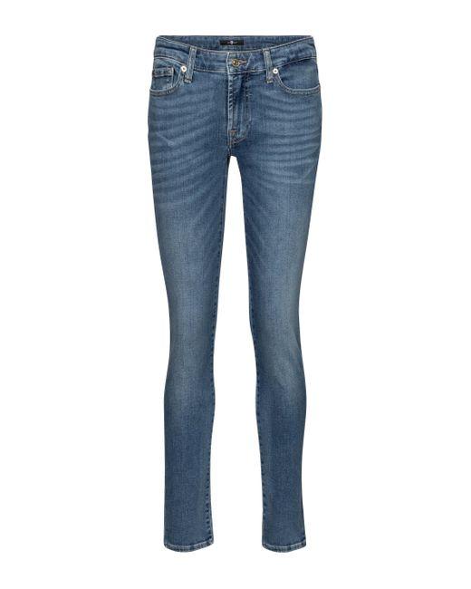 Jeans skinny Pyper di 7 For All Mankind in Blue