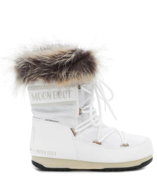 Moon Boot White Stiefelette