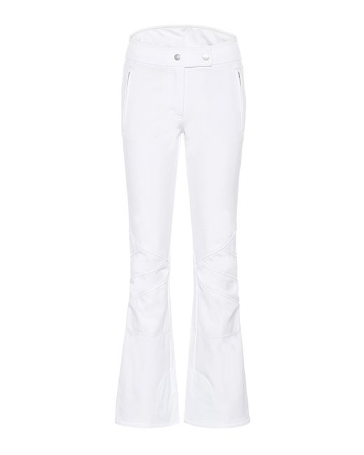 Toni Sailer White Sestriere New Ski Pants