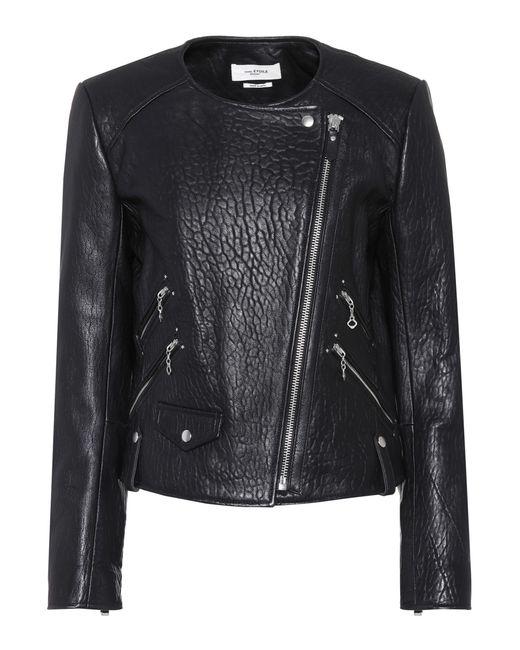Étoile Isabel Marant | Black Kankara Leather Jacket | Lyst