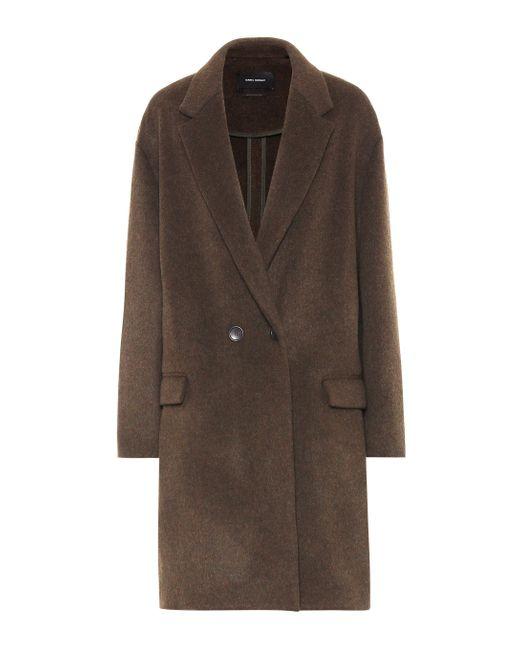 Isabel Marant Multicolor Filipo Wool-blend Coat