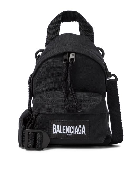 Balenciaga Black Mini-Rucksack