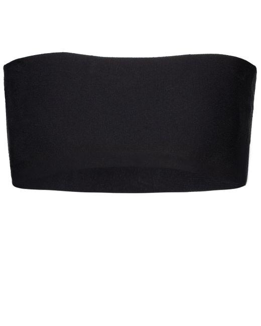 Stella McCartney Black Stretch-knit Bustier