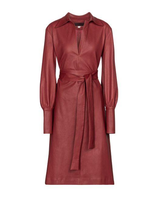 Abito Ninotchka in pelle di Stouls in Red