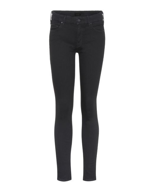 Mother Black The Looker Skinny Jeans