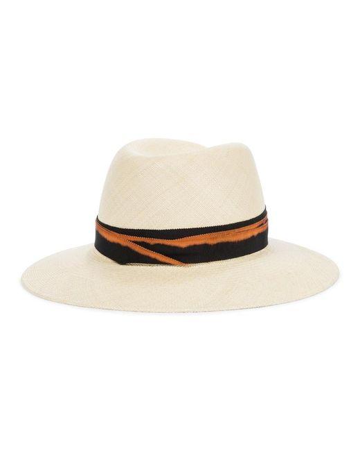 Cappello da pescatore Axel in cotone di Maison Michel in Multicolor