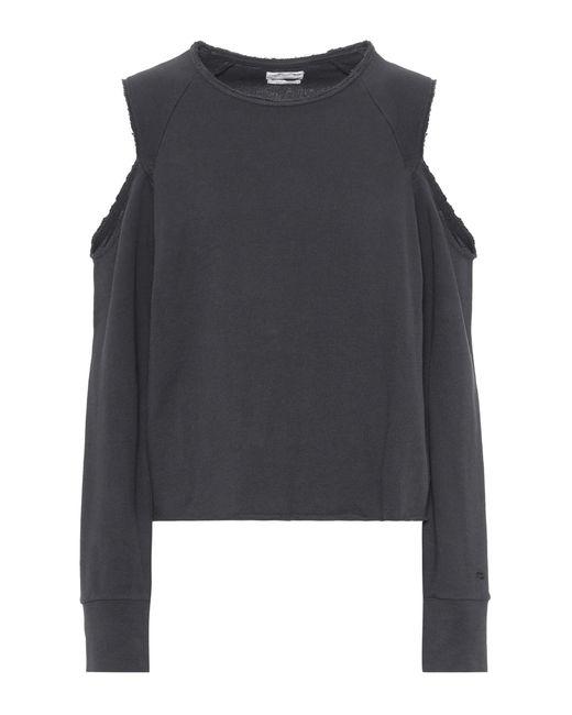Rag & Bone | Black Cotton Sweatshirt | Lyst