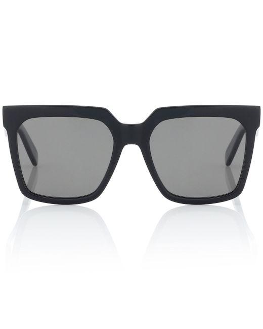 Céline Black Square Acetate Sunglasses