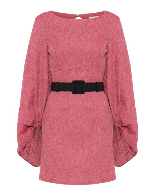 Rebecca Vallance Pink Minikleid Greta