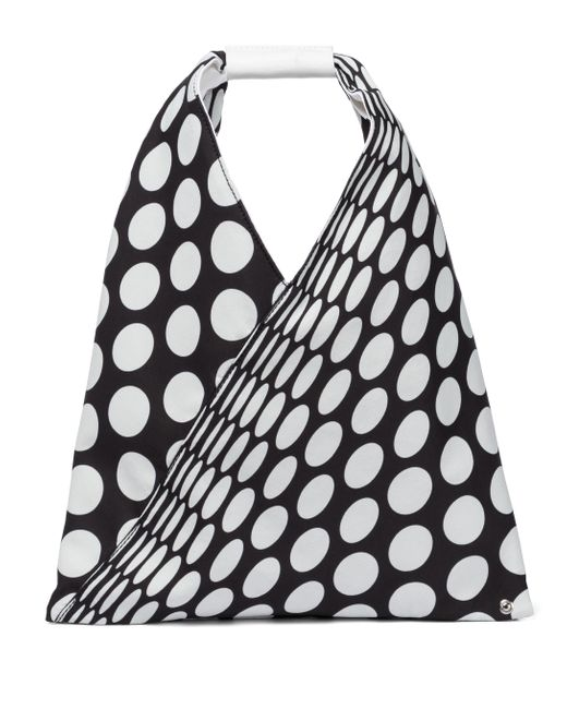 MM6 by Maison Martin Margiela Black Tote Japanese Small