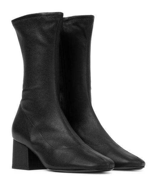 By Far Black Ankle Boots Carlos 22 aus Leder