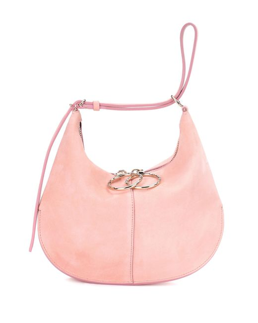 Nina Ricci   Pink Suede Tote   Lyst