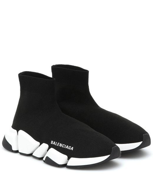 Balenciaga Black Turnschuhe Speed lace-up