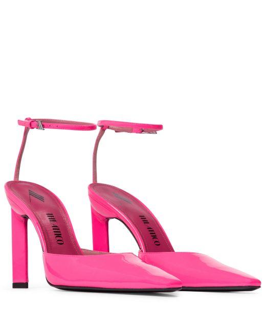 The Attico Pink Pumps Amber aus Lackleder