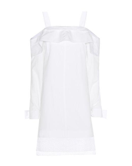 Proenza Schouler | White Cotton Dress | Lyst
