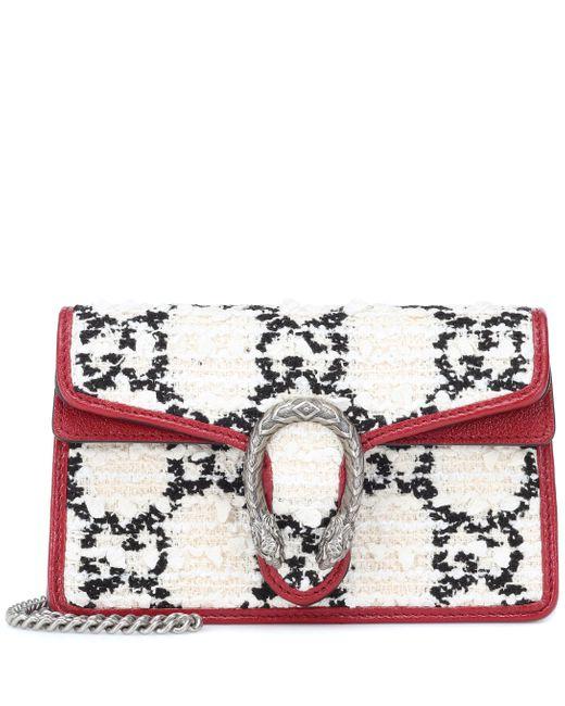 Gucci Multicolor Dionysus Super Mini Crossbody Bag