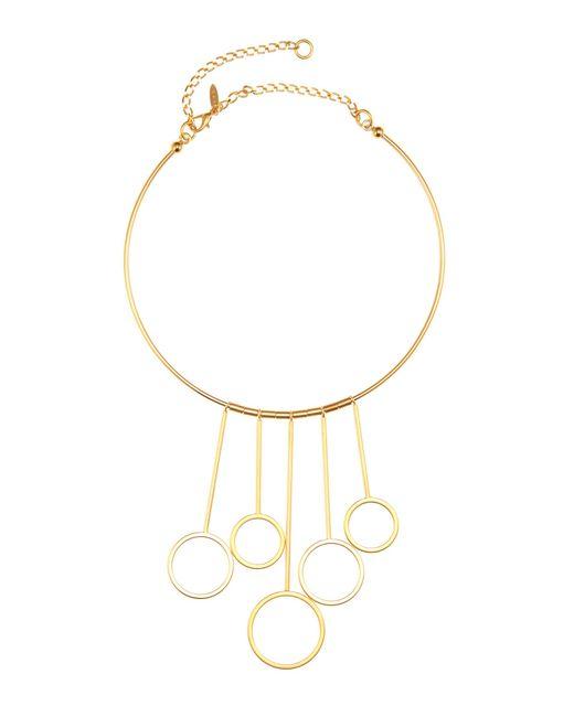 Marni | Metallic Golden Necklace | Lyst