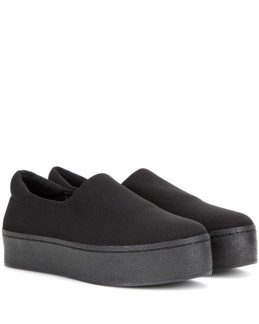 Opening Ceremony - Black Platform Slip-on Sneakers - Lyst