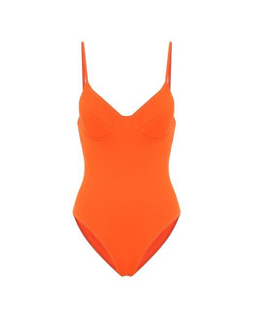 Reina Olga Orange Susy Swimsuit